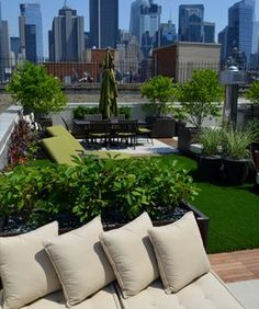 Co-op and Condo Roof Garden New York City NY NY by Jeffrey Erb