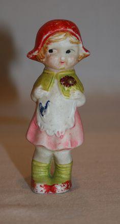 Vintage Little Girl Figurine