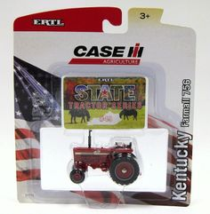 1/64th State Tractor Series #49 IH Farmall 756 - Kentucky