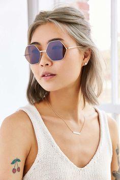 Mimi Geo Round Sunglasses, $16 | 27 Pairs Of Super Cute Sunglasses Under $25