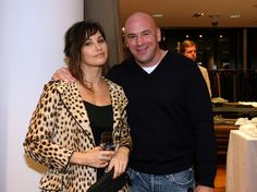 """Dana White Photos - (L-R)Gina Gershon and Dana White attend the book launch of Reed Krakoffs portrait book titled Fighter: The Fighters of the UFC at Barneys on September 2008 in New York City. - """"Fighter: The Fighters of the UFC"""" Book Launch at Barneys Gina Gershon, Dana White, Current President, Quotes White, Celebrity Gallery, Book Launch, Net Worth, Ufc, Product Launch"""