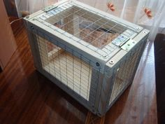 Wire Crate, Crates, Woodworking Projects, Garden Design, Home Appliances, Chicken, House Appliances, Appliances, Landscape Designs