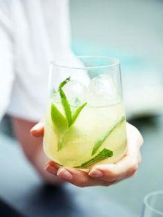 A refreshing beverage.