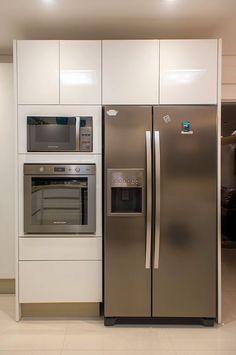 Cozinha redecorada linda - confira detalhes do antes e depois!