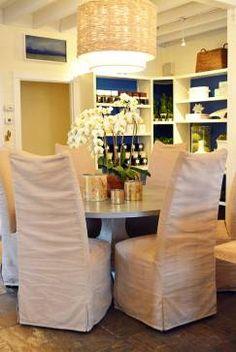 High Back Dining Chair - Mecox Gardens #home #decor #design #interiordesign #furniture #MecoxGardens