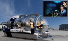 The million dollar personal submarine can take you a mile under sea