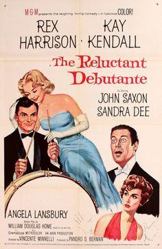Sandra Dee. The Reluctant Debutante (1958) - La rebelde debutante. Creo que fue donde conocimos a Sandra Dee.