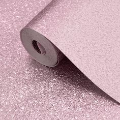 Muriva Shimmer Pink Metallic Glitter Wallpaper - 701378