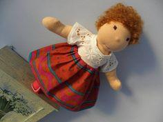 Jasmin  waldorf doll  11  28cm by LeluszkaWaldorfDoll on Etsy