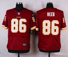 Washington Redskins Jersey - Jordan Reed Burgandy Game Jersey fb5d475be
