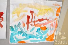 Little Birdie Secrets: painting with Jello - reader submission