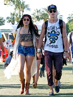 Vanessa and Austin #coachella