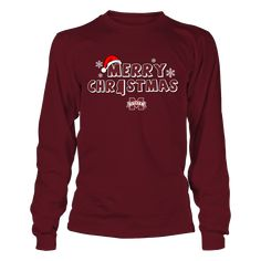 Mississippi State Bulldogs - Merry Christmas Logo T-Shirt, Special Offer, not available in shops! Comes in a variety of styles and colors Buy yours now before it is too late! Secured payment via Visa / Mastercard / Amex  The Mississippi State Bulldogs Collection, OFFICIAL MERCHANDISE  Available Products:          Gildan Long-Sleeve T-Shirt - $33.95 Gildan Unisex Pullover Hoodie - $49.95 Gildan Fleece Crew - $39.95 District Women's Premium T-Shirt - $29.95 District Men's Premium T-Shirt…