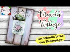 Free Tutorials, Cactus, Craft Videos, Recycling, Creativity, Home, Decorated Flower Pots, Ornaments, Recycled Tin Cans