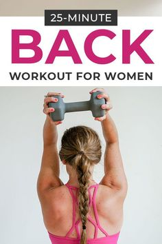Grab your dumbbells and start sculpting a strong back with this guided BACK WORKOUT video! Perfect for busy women who are strength training at home! #athomeworkout #homeworkouts #homeworkoutroutine Good Back Workouts, Back Exercises, At Home Workouts, Workout Exercises, Major Muscles, Core Muscles, Back Muscles, Emom Workout, Back Workout Women