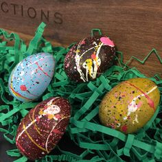 Maine Sea Salt Caramel Easter Eggs from EC grad Christopher Hastings Confections Sea Salt Caramel, Artisan Chocolate, Easter Chocolate, Spring 2016, Chocolates, Easter Eggs, Maine, Food, Chocolate