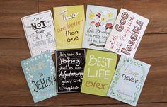 Weiteres - 8er-Set Klappkarten mit Briefumschlag - ein Designerstück von…