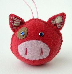 Pigling Pig Ornament