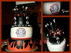 Rock Star baby shower cake by Cake Pizzazz in Dallas, TX http://Facebook.com/cakepuzzazz