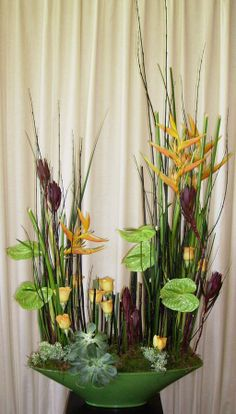 floral veggetative design | Guest demonstrators at FASV functions