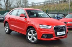 Used 2014 (14 reg) Red Audi Q3 2.0T FSI [170] Quattro S Line 5dr S Tronic for sale on RAC Cars