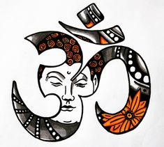 Om-symbol with markers, I have drawn it some time ago for my aunt. Copic Marker Art, Copic Art, Copic Markers, Drawing Sketches, Art Drawings, Symbol Drawing, Om Symbol, Some Times, Copics