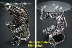 alien table furniture art for sale