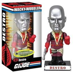 G.I. Joe Pimp Daddy Destro Bobble Head