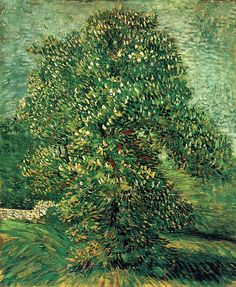 Vincent van Gogh, Chestnut tree in blossom, 1887