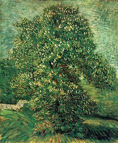 Vincent van Gogh, Chestnut tree in blossom, 1887