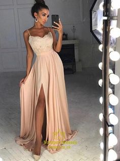 Designer Evening Dresses Long Cheap Online With Lace Evening Dresses Prom Dresses Model Number: Sexy Dresses, Split Prom Dresses, Blush Prom Dress, Cheap Party Dresses, Straps Prom Dresses, Party Dresses Online, Event Dresses, Bridesmaid Dress, Fashion Dresses