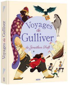 Les Voyages de Gulliver - JONATHAN SWIFT - CLAUDE CARRÉ