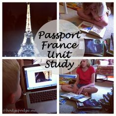 "Start, End and Mix Up Homeschool With Unit Studies at www.hodgepodge.me ""We ended our school year with a trip to France!"""