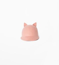 Image 1 of Hat with ear detail from Zara  $17.90