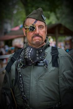 Guardian of the Aether Commander Viscount Eastman Wesley. #steampunk