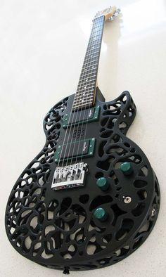 Atom 3D printed Guitar