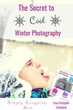 Tips for Cool Winter Photography Winter is a beautiful time for photography; however, if your camera settings are not right your snow may look blue or gray! Check out tips for great winter photography- indoors and outdoors! Snow Photography, Photography Basics, Photography For Beginners, Photography Camera, Photography Projects, Photography Backdrops, Outdoor Photography, Photography Tutorials, Photography Lessons