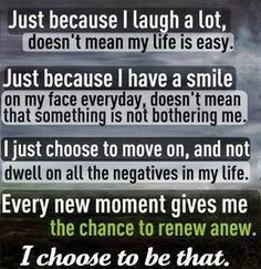 Each morning, as the new day begins, I try earnestly to make this important choice. #quotes #about_me
