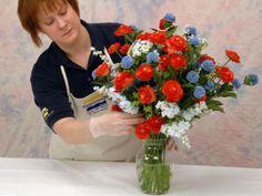Creating Life Like Silk Flower Arrangements