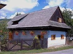 Skanzeny a ľudová architektúra - Slovakia.travel, Rejdovské drevenice Bratislava, Czech Republic, Hungary, Gazebo, Europe, Outdoor Structures, Cabin, Explore, House Styles