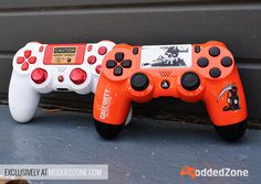 Check out another Beautiful Customer Creations that was completed today! Nice, right? Get your #custom #modded #ps4controller today at www.moddedzone.com