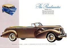 Buick Roadmaster 81-C - Mad Men Art: The 1891-1970 Vintage Advertisement Art Collection