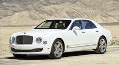 Bentley Mulsanne Country of Origin: United Kingdom Engine: 505-hp, 6.75-liter, twin-turbo V-8 0-60 mph: 5.1 seconds Starting price: $298,900
