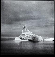 Iceberg, Antarctica Unknown 120 film, Unknown Developer 150mm