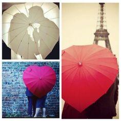 heart umbrellas  | Rainy wedding | ombrello a cuore | Sposa bagnata...sposa fortunata! http://theproposalwedding.blogspot.it/ #rain #rainy #wedding #fall #autumn #umbrella #autunno #pioggia #matrimonio #ombrello #stivali #boots