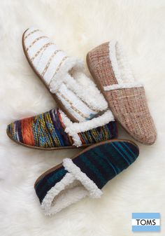 TOMS slippers are the coziest styles of the season. Add them to your holiday list for the perfect family gift.