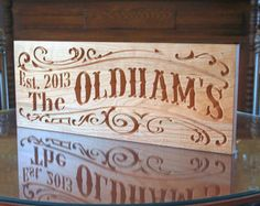 ye olde hand carved signage - Google Search