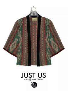 Kebaya kutubaru tenun ikat Model Dress Batik, Batik Dress, Blouse Patterns, Blouse Designs, Mode Batik, Batik Kebaya, Blouse Batik, Batik Fashion, Japanese Outfits