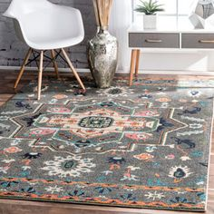 Shop for nuLOOM Transitional Tribal Medallion Grey Rug (5' x 8'). Get free shipping at Overstock.com - Your Online Home Decor Outlet Store! Get 5% in rewards with Club O!