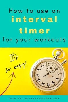 Heard of high intensity interval training workouts but not sure how HIIT exercise actually works? It's really quite simple. Learn how to structure a HIIT workout and how an interval timer works to keep you on track. #hiittraining #hiitworkouts #hiitexercise #intervaltraining #intervalworkouts #intervals #athomeexercise #athomeworkouts #easyworkouts #workoutsforbeginners #beginnerexercise #athomecardio Basic Workout, Full Body Workout At Home, Workout Log, Prenatal Workout, Interval Training Timer, High Intensity Interval Training, Over 50 Fitness, Fitness Tips, At Home Workouts For Women